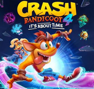 Постер Crash Bandicoot 4: It's About Time
